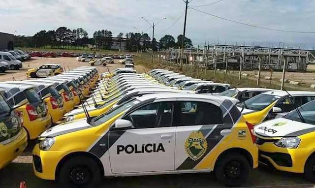 Municípios da região central receberão viaturas novas