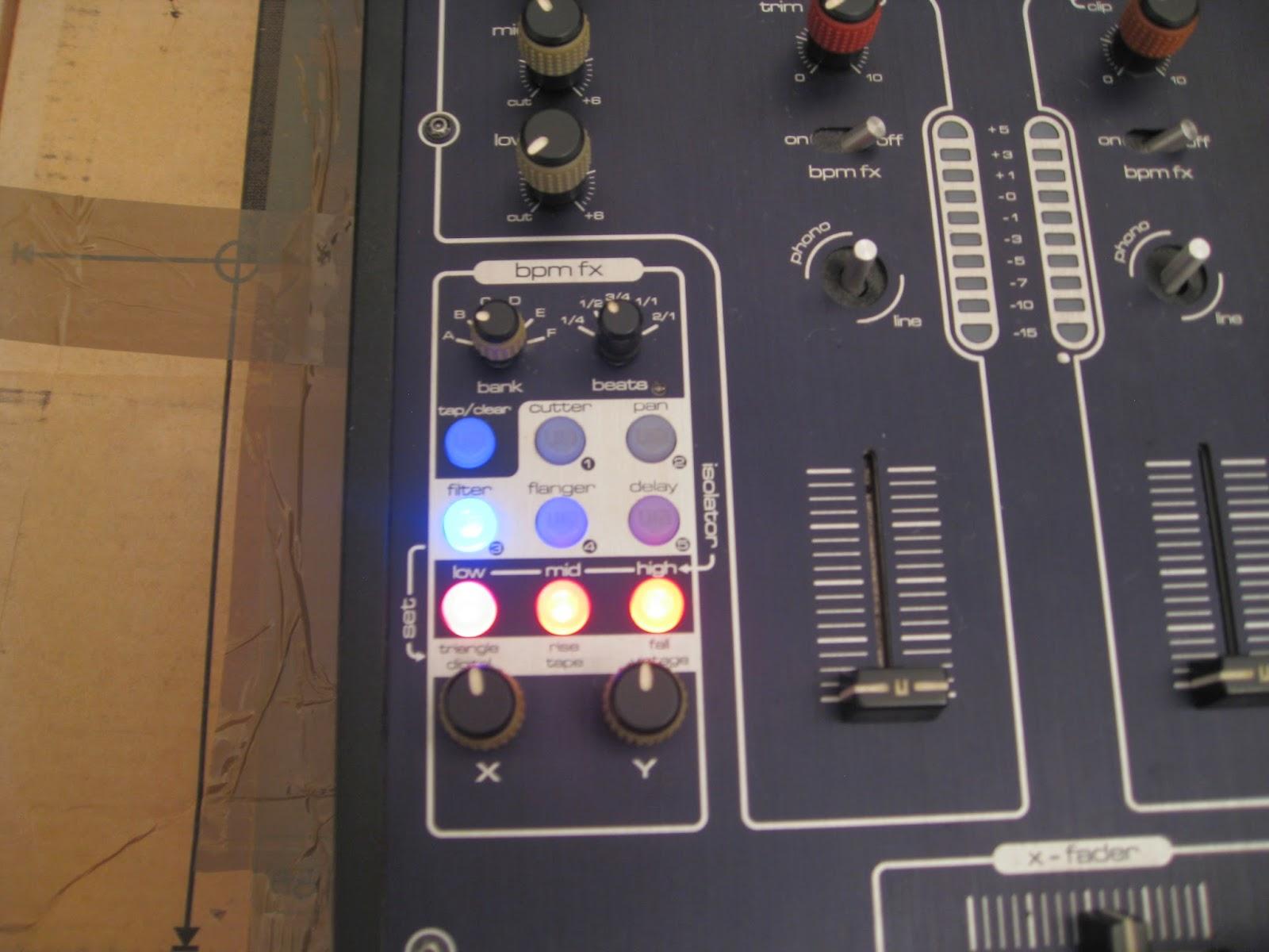 Infrequent Sound [sex tex] technology: SoundCraft UREI 1601E