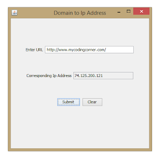 Domain to IP conversion tool