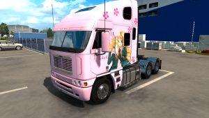 Freightliner Argosy Reworked Anime skins