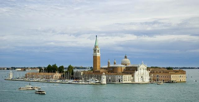 Ilha de San Giorgio Maggiore em Veneza na Itália
