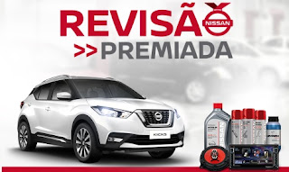 Cadastrar Promoção Nissan 2017 Revisão Premiada Carro 0km