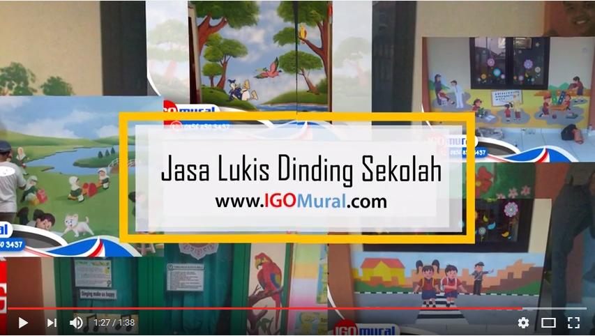 Contoh Video Lukisan Sekolah Yang Indah