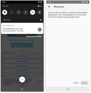 Begini Cara Aktifkan Mode Gelap Tersembunyi di Facebook Messenger
