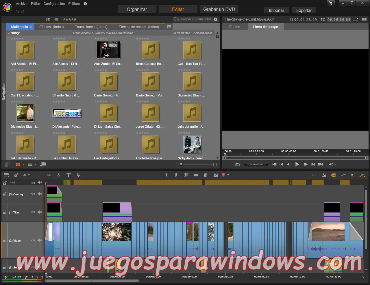 Pinnacle Studio Ultimate v18.0.1 Multilenguaje ESPAÑOL (CORE) 9