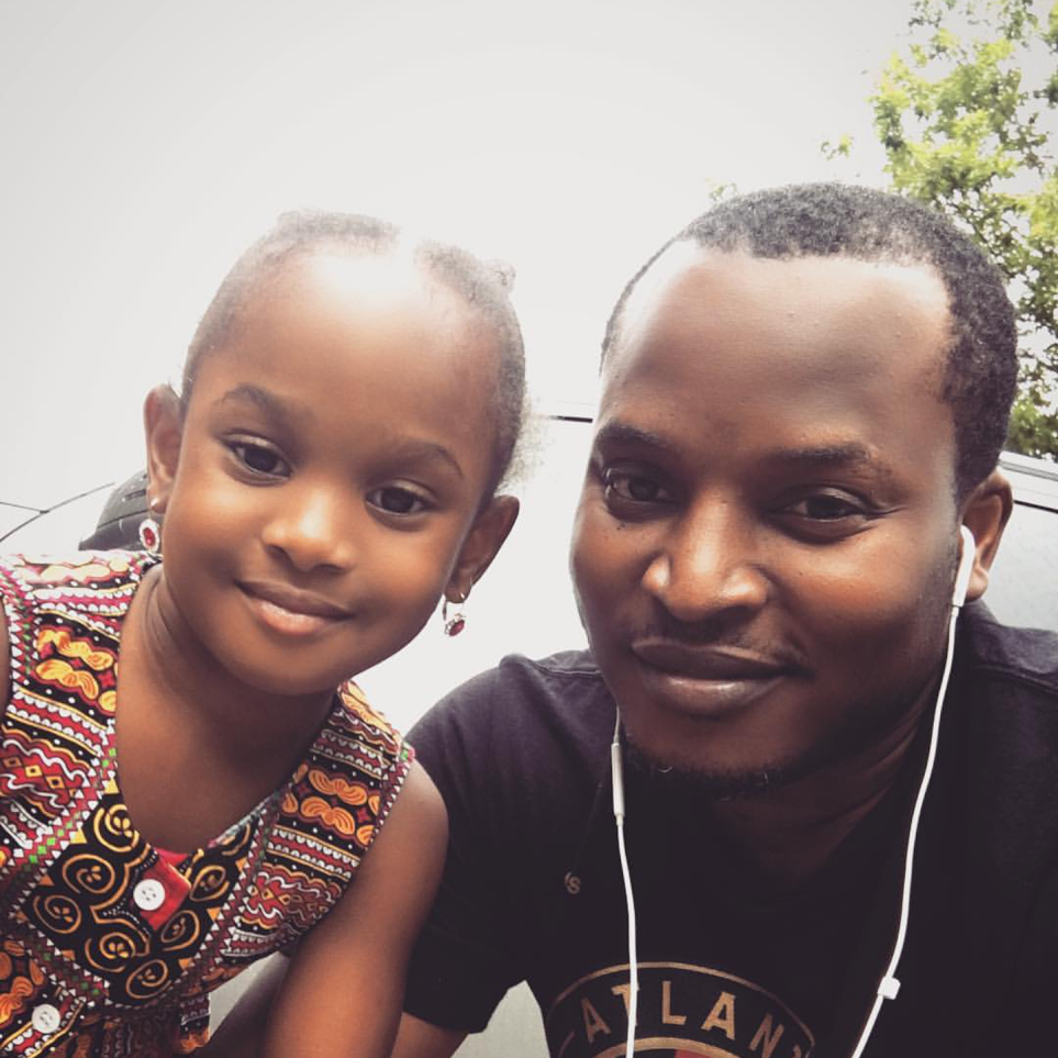This is really awesome! Mr. Eldee the Don (Rapper) shares cute photos with his daughter