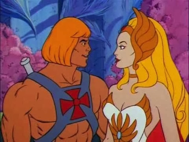 Even though they were brother and sister, you thought He-Man and She-Ra made a hot couple