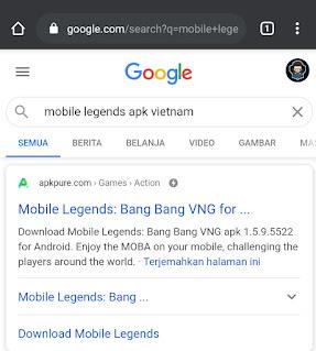 cara masuk server mlbb vietnam