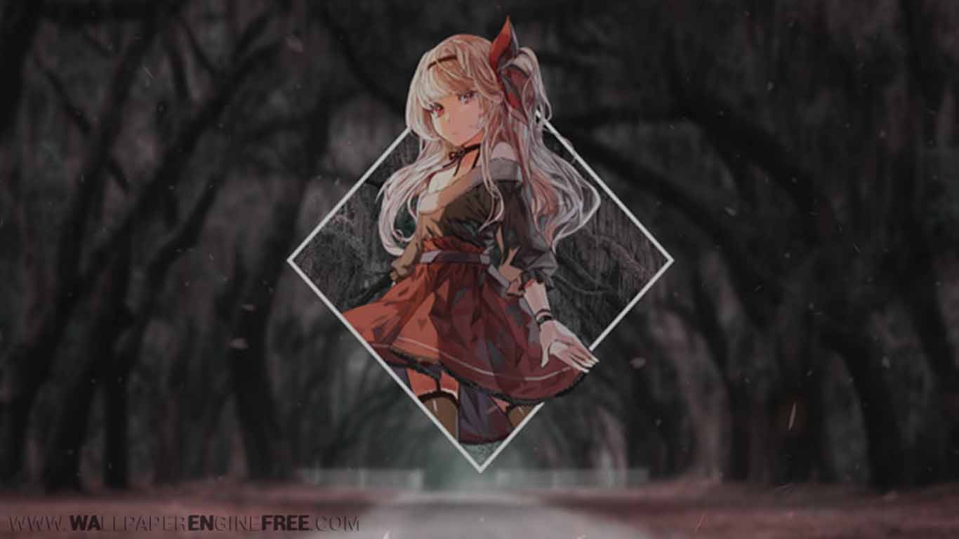 Anime Cherry Blossom Wallpaper Engine Free | Download ...