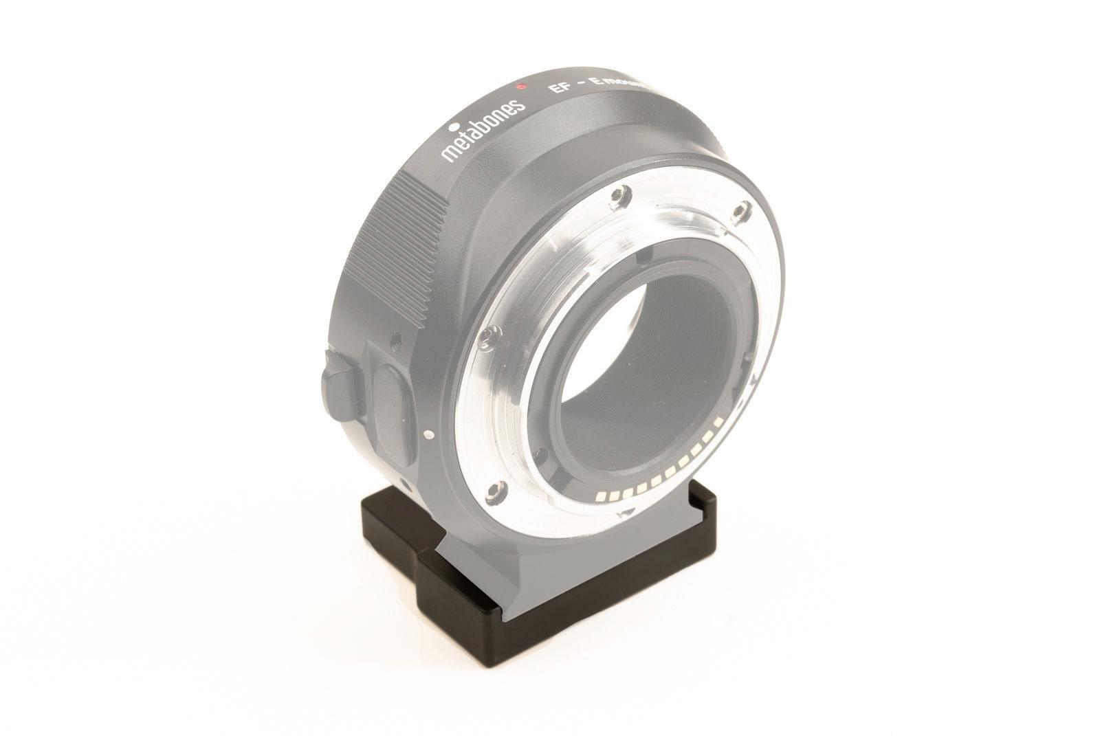 Hejnar Extender Spacer on Metabones Adapter facing forward
