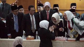 Ning Ita Nyatakan Siap Dukung Nawa Bhakti Satya Gubernur Khofifah