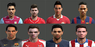 [PES2013] Facepack[01] Pes 2013 by Magicpro