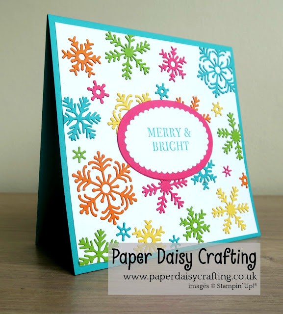 Beautiful Blizzard from Stampin Up