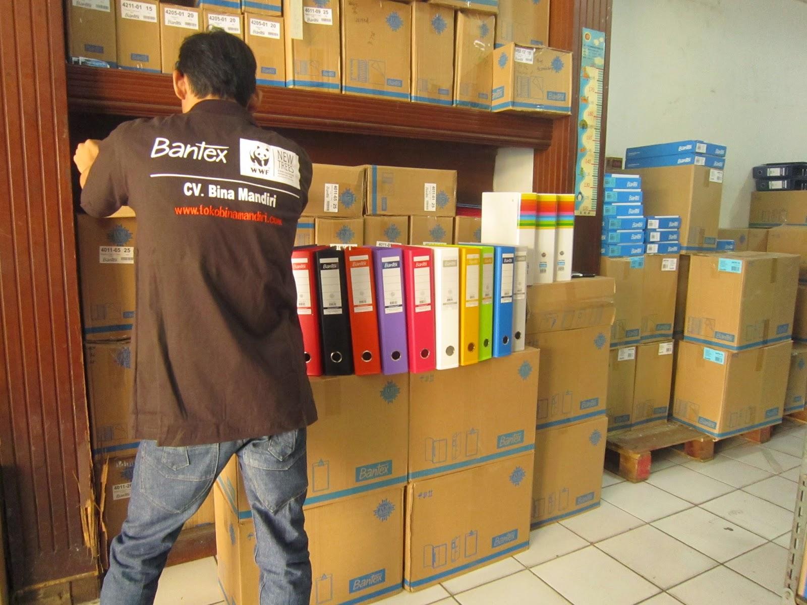 Supplier Perlengkapan Kantor Merek Bantex Termurah di Mangga Dua Jakarta Pusat