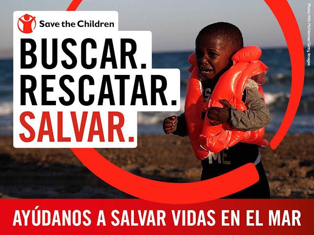 Buscar. Rescatar. Salvar. #SavetheChildren