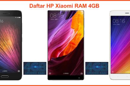 5 HP Xiaomi RAM 4GB Murah Terbaru 2019 (Harga 1 – 3 Jutaan)