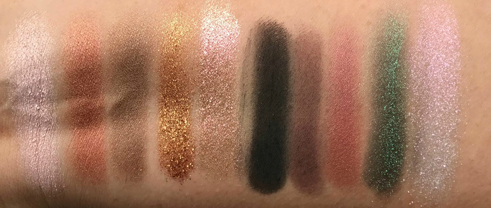 Pat McGrath Mothership II Sublime Eyeshadow Palette Swatches