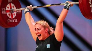 Τεράστιο Μπράβο: Πρωταθλήτρια Ευρώπης στην Άρση Βαρών η Ελένη Κωνσταντινίδη!