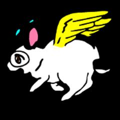 Usa-chan, The first Angel Rabbit