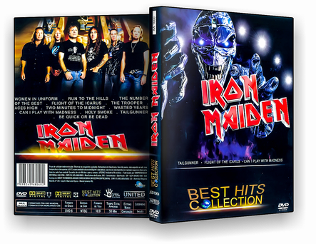 CAPA DVD – Iron Maiden Best Hits Collection – ISO