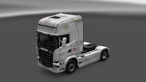 Rio 2016 Skin for Scania Streamline