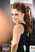 Nikesha Patel in Beautiful Figure Hugging Black Dress  at IIFA Utsavam Awards 2017  Day 2 at  10.JPG