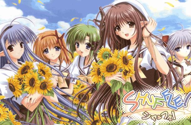 Anime Drama Romance Terbaik - Shuffle