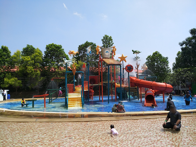 Cuti keluarga di Bayou Lagoon Resort, Melaka
