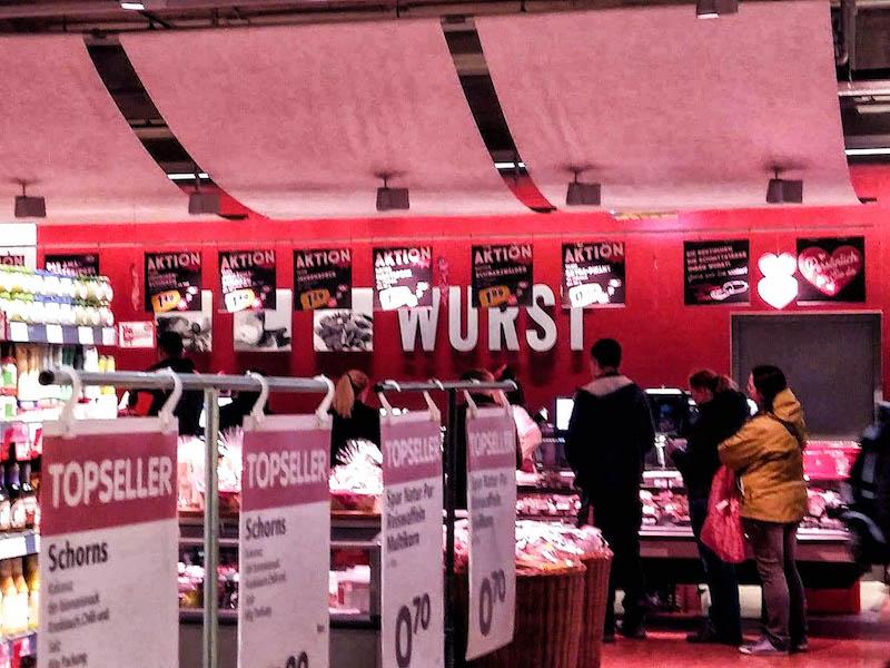 Wiedeń w jeden dzień, wycieczka do Wiednia, Wiedeń supermarket