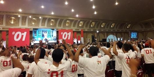 Alumni 44 SMA se-Yogya Deklarasi Dukung Jokowi-Ma'ruf Amin