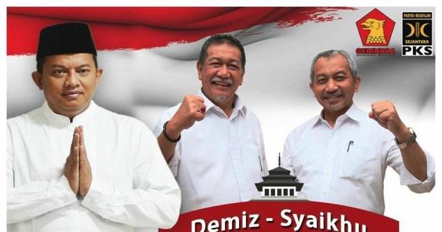 AYO KITA DUKUNG!!! Gerindra Jabar Siap Menangkan Pasangan Deddy Mizwar – Ahmad Syaikhu