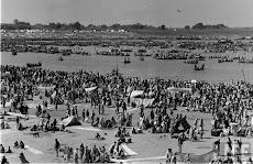 Kumbh Mela in Allahabad, 1954