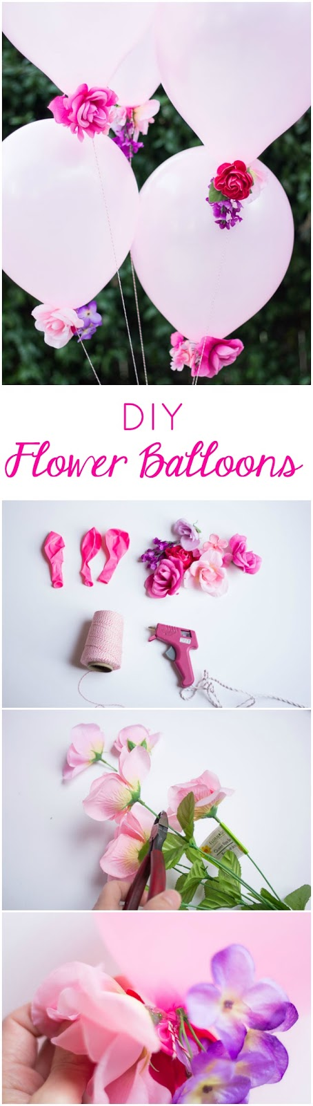 DIY Flower Balloons | Design Improvised