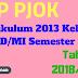 RPP PJOK Kurikulum 2013 Kelas 2 SD/MI Semester 1 Tahun 2018/2019 - Mutu SD