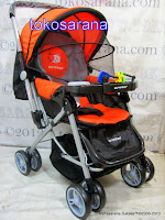 Kereta Bayi Crater P216 Reversible Handle