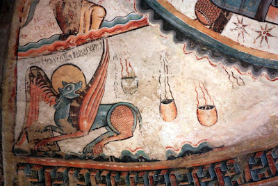 Pintura romanica en la Colegiata de Santa Maria de Mur