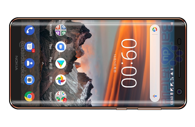 So this is how the Nokia 9 will look like
