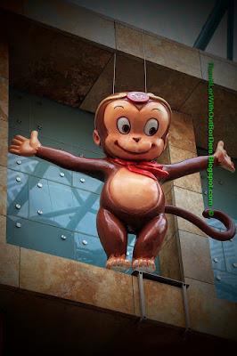 Monkey, Chine New Year decoration, Sentosa, Singapore