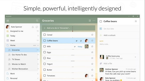 Microsoft launches Wunderlist for Windows 10 Preview