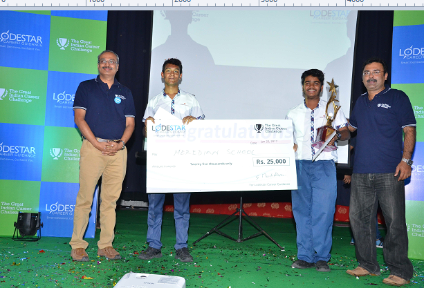Lodestar conducts India's First Career Quiz, 'The Great Indian Career Challenge' for High School Students in Hyderabad