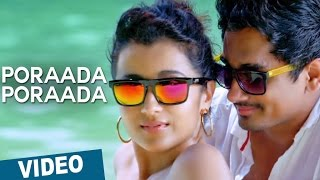 Poraada Poraada Video Song _ Aranmanai 2 _ Siddharth _ Trisha _ Hansika _ Hiphop Tamizha