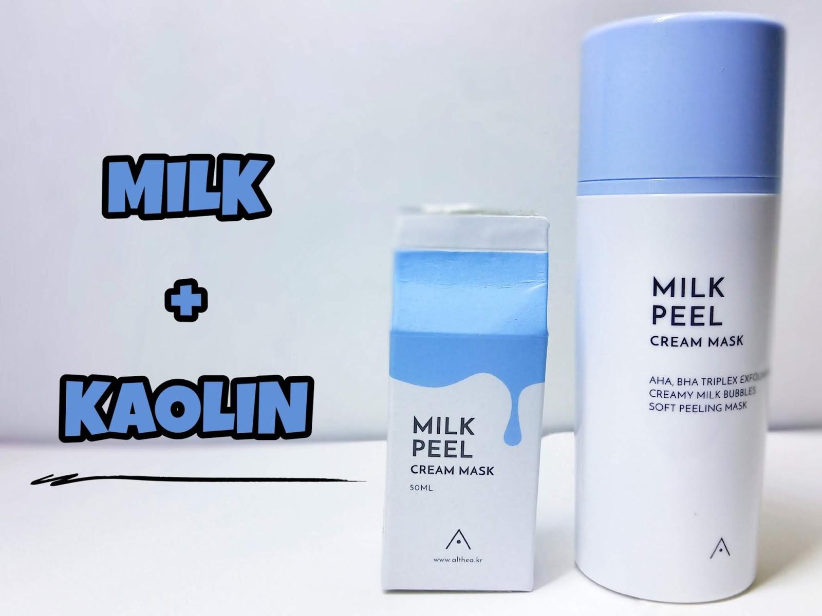 Susu Milk Peel Cream Mask Althea