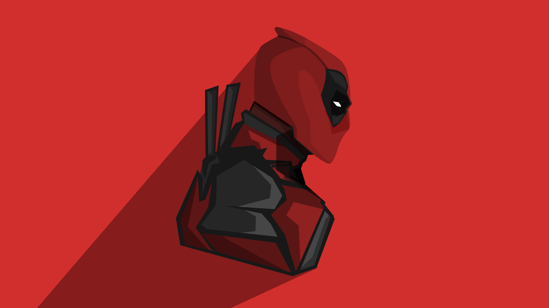 deadpool minimalist graphic wallpaper full hd wallpapers