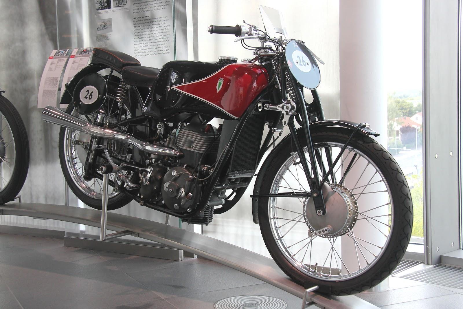 DKW SS 350 Motorbike