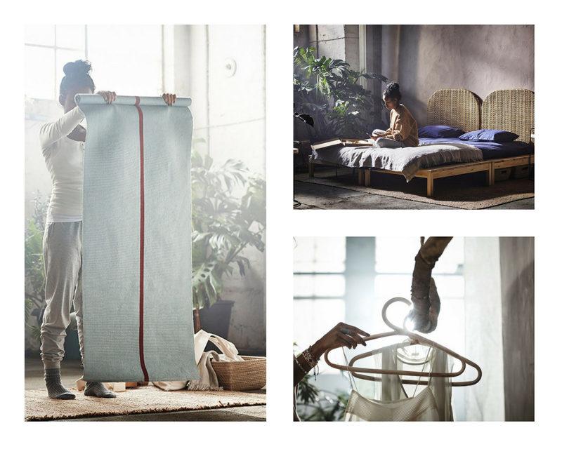 nueva colección ikea yoga yogui zen HJÄRTELIG  alfombra
