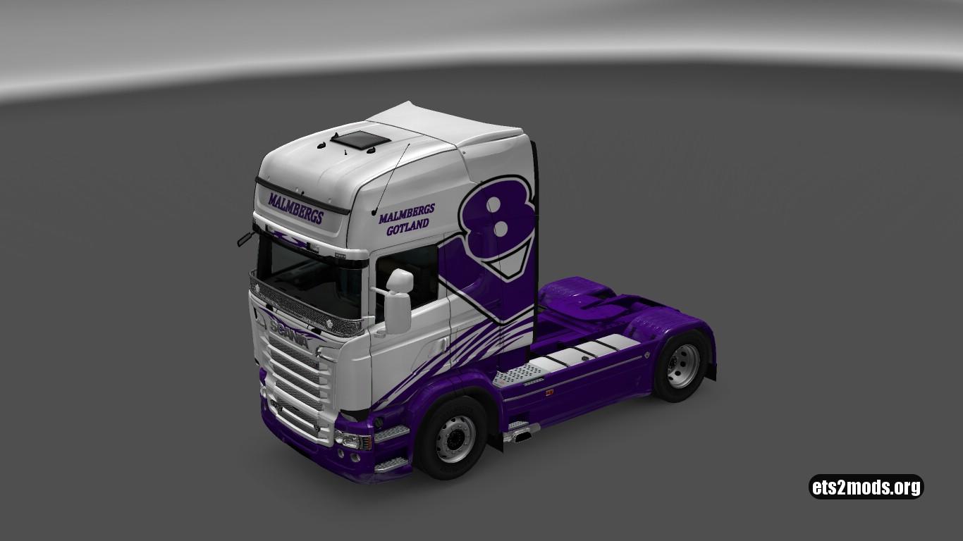 Scania RJL Malmbergs V8 Hauler