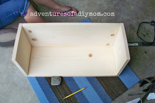 building a toy box out of wood