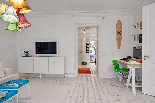 Charming Scandinavian Apartment picture