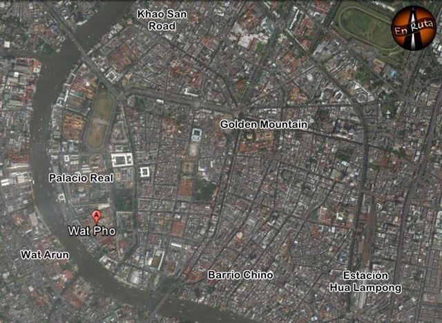 Wat-Pho-Mapa