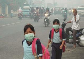 Bahaya kabut asap bagi kesehatan